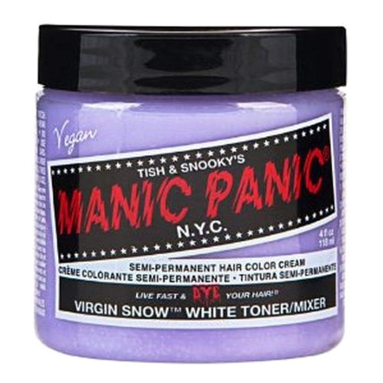 エリート非効率的な舞い上がるマニックパニック カラークリーム ヴァージンスノー