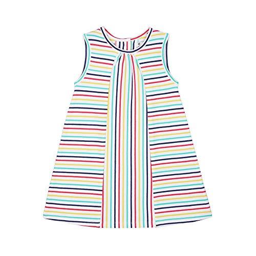 Mothercare MG Pa Stripe Jersey Dress Robe, Noir (Pink 130), 24-36 Months (Size:98) Bébé Fille
