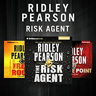 Ridley Pearson - Risk Agent Series cover art