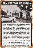 金属の看板1963の気流ストリームトレーラー住宅装飾屋外屋内壁パネル