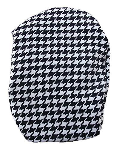Simple Stoma Cover Ostomy Bag Cover Italienische Baumwolle Pixels Schwarz