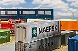 Faller Fa 180840–capacità 40Cube Container Maersk, Accessori per Il Modello ferrovia, Costruzione