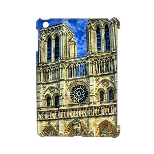 Gogh Yeah Individualidad Usar como Apple iPad Mini3 Teléfono Carcasa Rígida Rígida De Plástico Niño Tener con Notre Dame De Paris
