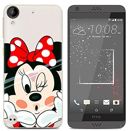 Easbuy Cute Soft TPU Silicium Etui Étui Housse Coque Pour HTC Desire 650 Anti-Scratch Silicone Silikon Cover Silicon Case