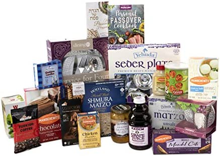 Seder In a Box Passover Seder Essential Foods Religious Articles The Ultimate Passover Survival product image