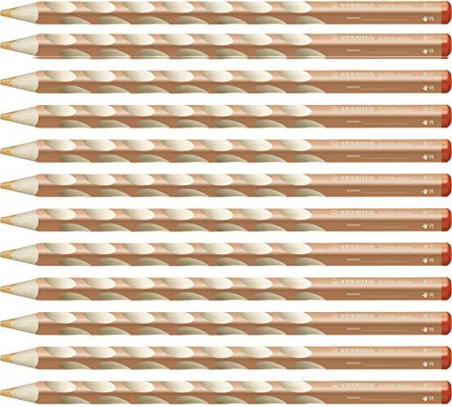 STABILO EASYcolors matita colorata ergonomica per Destrimani colore Carnicino - Scatola da 12