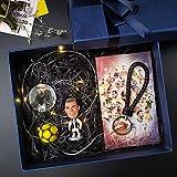 Grafts - Llavero, jugador de fútbol, Fan del Real Madrid, Ronaldo, Exquis Modelo Le, Liga de Campeones, Muñeca de la Liga de los Campiones, Muñeca Modelo Regalo de cumpleaños, Navidad