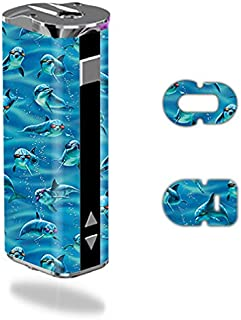 MightySkins Skin Compatible with Eleaf iStick 30W – Dolphin Gang | Protective, Durable, and Unique Vinyl Decal wrap Cover | Easy to Apply, Remove, and Change Styles | Made in The USA