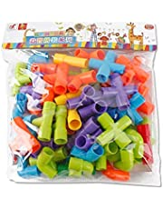 Pipeline Tunnel Blocks DIY  Bricks Toys Kids Educational Toy Pipe Blocks Training Toys Child Gift Family Board Game