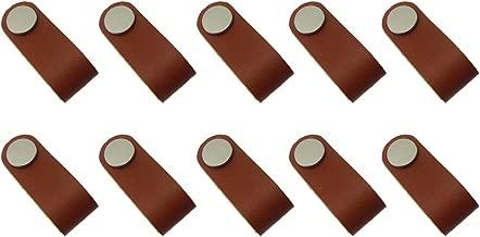 Möbelgriff Ledergriff Knopf Möbelgriffe Türgriffe Griffe aus Kunstleder