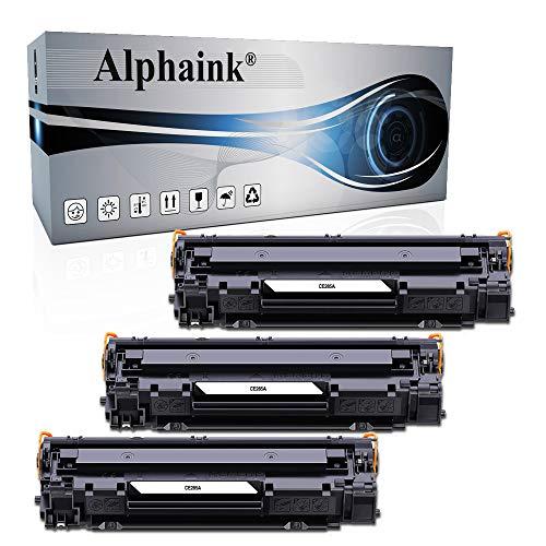 Alphaink 3 Toner Compatibili con HP CE285A 85A per stampanti HP LaserJet Pro P1102 P1102W M1212NF M1132 MFP M1217NFW M1132 M1212 M1130 P1100 M1136 M1210 M1210MFP M1134MFP M1134