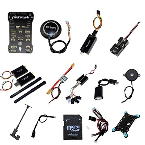 Pixhawk PX4 PIX 2.4.8 Flight Controller NEO-M8N GPS 3DR 915Mhz Radio Wireless Telemetry Set OSD Module PPM Module I2C Splitter Expand Module Power Module for FPV Quadcopter Multirotor …