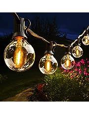 Lichtketting buiten, Hidixon G40 LED Lichtsnoer globe lampen buiten