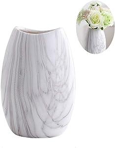 Anding Marble Vase/White Flower Pot/Flower Display/Dedding/Housewarming Gift