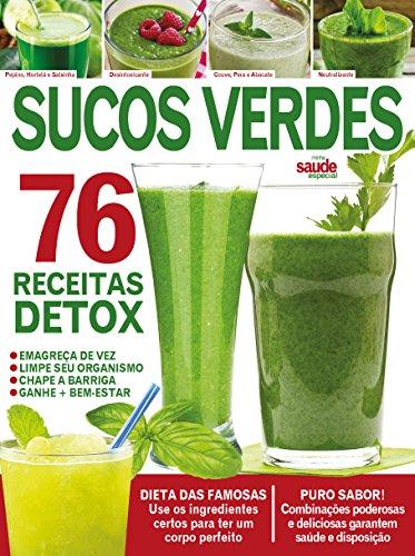 Minha Saúde Especial ed.12 Sucos Verdes (Portuguese Edition)