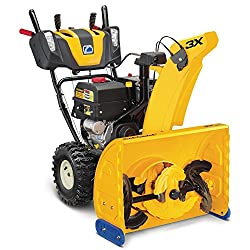 The Cub Cadet 3X 3 Stage Snow Blower