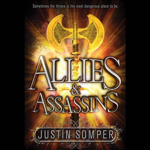 Allies & Assassins audiobook cover art