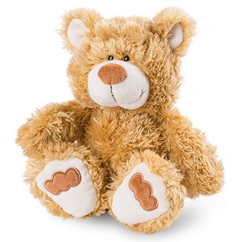 NICI 46506 Kuscheltier Bär 25 cm – Plüschtier für Mädchen, Jungen & Babys – Flauschiges Stofftier zum Spielen, Sammeln & Kuscheln – Gemütliches Schmusetier, Goldbraun