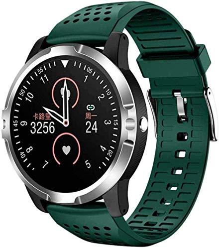Smartwatch para hombres ECG PPG HRV Reloj Inteligente Ritmo Cardíaco Fitness Trackers Con Recibir/Hacer Llamada Presión Arterial Monitoreo de Oxígeno IP67 Impermeable-G-C-B