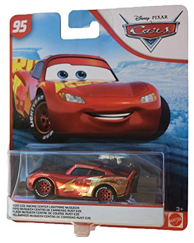 Disney Pixar Cars 1:55 Scale Rusteze Racing Center Lightning McQueen