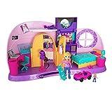 Polly Pocket Habitación Polly-Transformación, casa de muñecas...