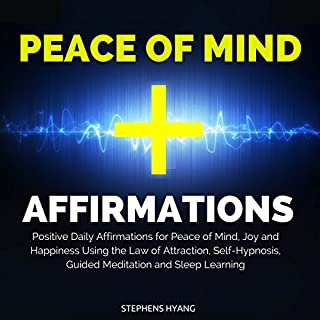 Peace of Mind Affirmations cover art