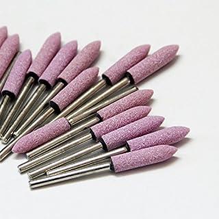 cone 3mm Ebilun 10/pcs multifonction pour mandrin mont/é Vernis Grind Pierre Abrasive T/ête pour outil rotatif 10 c/ône//Cylindre, 3//4//5//6//8//10//12/mm pink +silver