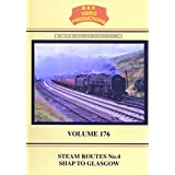 B & R No. 176 - Steam Routes No. 4 Dvd (Shap to Glasgow 1960s Steam Traction) B&R Video Productions