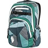 Nitro Chase Rucksack, Schulrucksack mit Organizer, Schoolbag, Daypack mit 17 Zoll Laptopfach,...