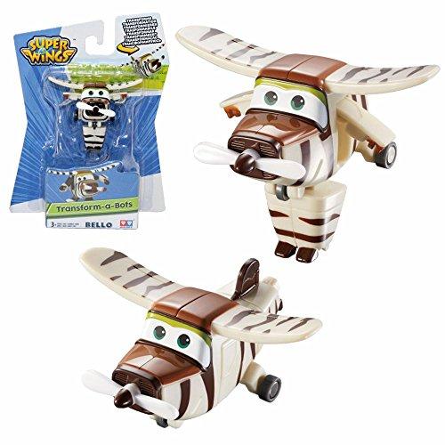 Giochi Preziosi Selección Transform-a-Bots | Super Wings | Mini Transform Aviones, Super Wings:Bello