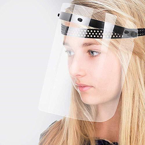 MOCN Protector de Cara Completa antivaho para Ojos y Cabezas, policarbonato Transparente cónico Nombre del Producto