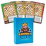 Fun and Fast: Learn chess quickly and easily as the silly King guides you through valuable chess lessons. Have a blast while learning and improving your chess skills, techniques and gameplay! Each individual card was carefully constructed to increase...