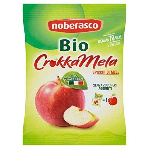 Noberasco Organic Crunchy Apples - 20g Max 60% OFF 0.04lbs Japan's largest assortment