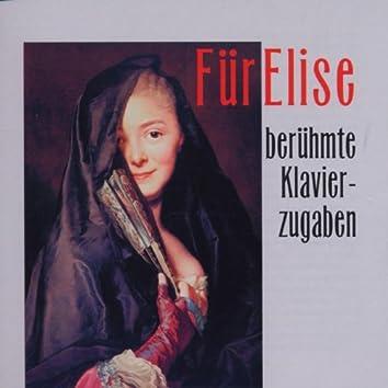 Fuer Elise - Beruehmte Klavierzugaben