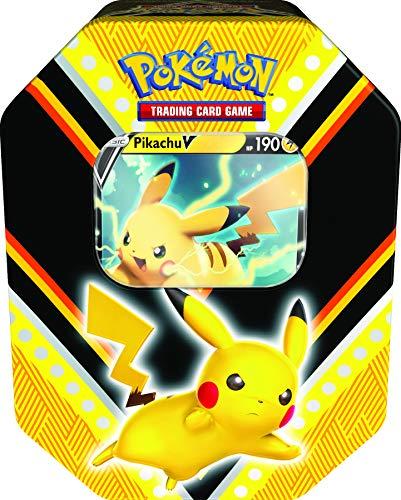 Pokémon TCG V Powers Boîte métallique (Un au Hasard)