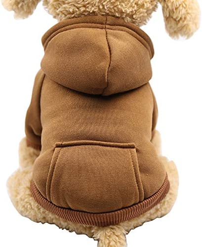 Fashion Focus On New Winter Dog Hoodie Sweatshirts with Pockets Cotton Warm Dog Clothes for product image