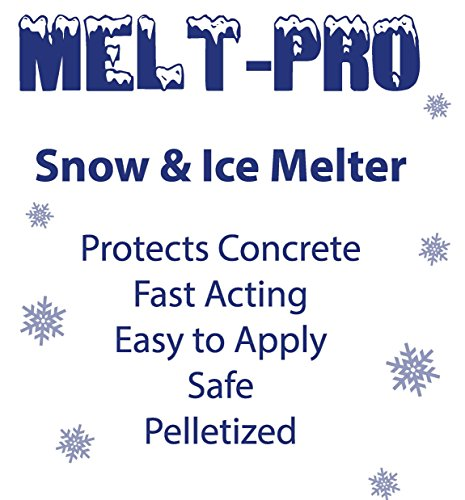Detco Snow & ICE MELT - Unique Polymer Formula-Big- 50lb Bag, Safe Around Pets, Lawn, shrubs, Sidewalks, porches and driveways.