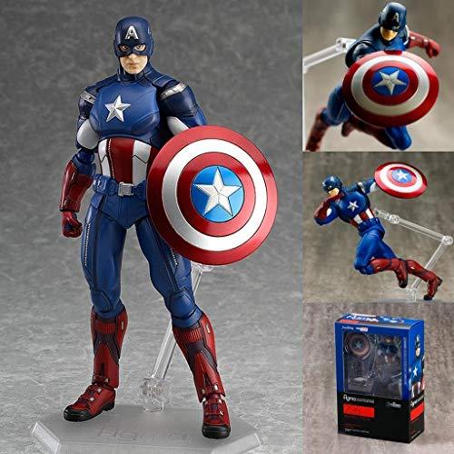 Estatua Capitan America marca JSFQ