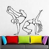 Breakdance acciones de baile piso de baile Hip Hop baile vinilo foto hogar...
