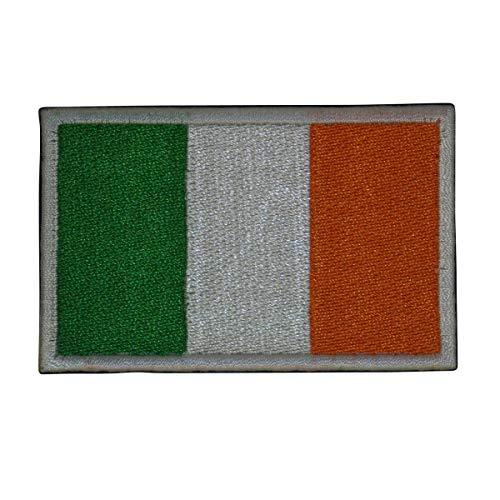 Cobra Tactical Solutions Military Besticktes Patch Flagge Irland mit Klettverschluss für Airsoft Paintball für Taktische Kleidung Rucksack