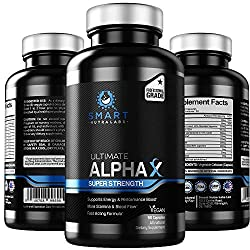 top 10 male growth pills Ultimate AlphaX Men's Strengthening Pills – Super Powerful Enhancers for Men – Professional…