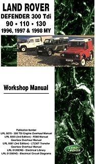 Land Rover Defender - 300 Tdi Workshop Manual 1996-1998: 90-