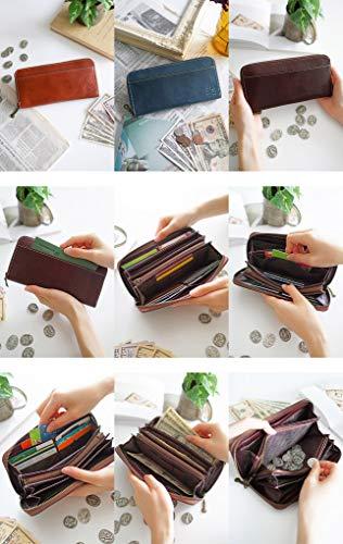[ダコタ]Dakota長財布ラウンドファスナー0035896フォンスシリーズレッドDA-35896-30