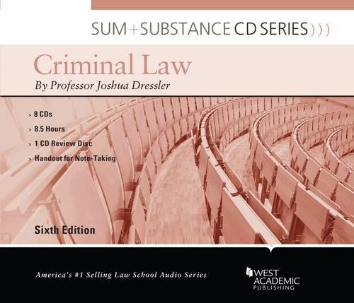Sum and Substance Audio on Criminal Law
