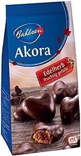 2 x Bahlsen AKORA chocolate covered gingerbread cookies - Dark Chocolate-Berries -2 bags-