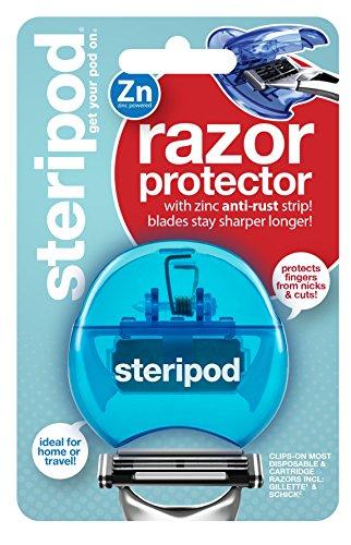 Steripod Razorpod - Clip-On Razor Protector (Blue)