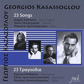 Georgios Kasassoglou: 23 Songs
