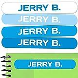 50 Etiquetas adhesivas para marcar objetos 6 x 1cm. Pegatinas para marcar libros...