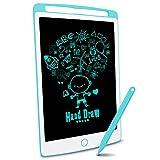 Richgv LCD-Schreibtafel, magnetische LCD-Zeichenbrettplatte für Kinder und Erwachsene 10-Zoll-tragbare Digitale Schreibtafel, abnehmbare handschriftliche Gekritzel-Schreibtafel mit Stift (blau) … -