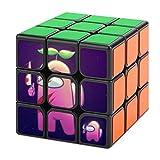 uytrgh Amon-g Us Tercer Orden Cubo Mágico Descompresión No Tóxico Suave Puzzle Nunca Fuera de Date Regalo